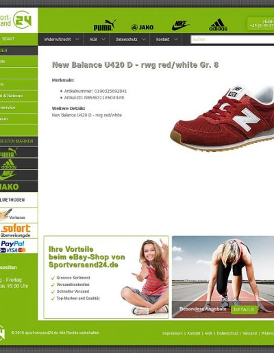 Starsellersworld eBay Produkt Template