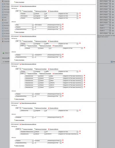 Aufwendiges Einsatz-Beispiel des Starsellersworld Universalfilters für die individuelle Datenaufbereitung